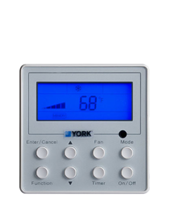 YORK controllers