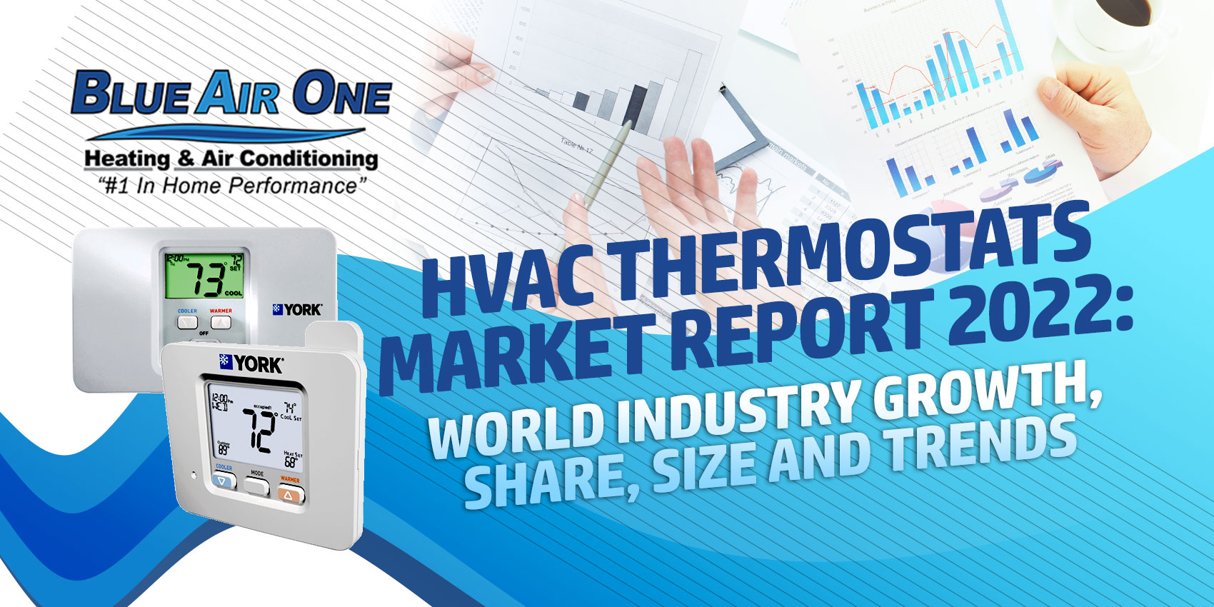 HVAC Thermostats Market Report 2022: World Industry Growth, Share, Size and Trends