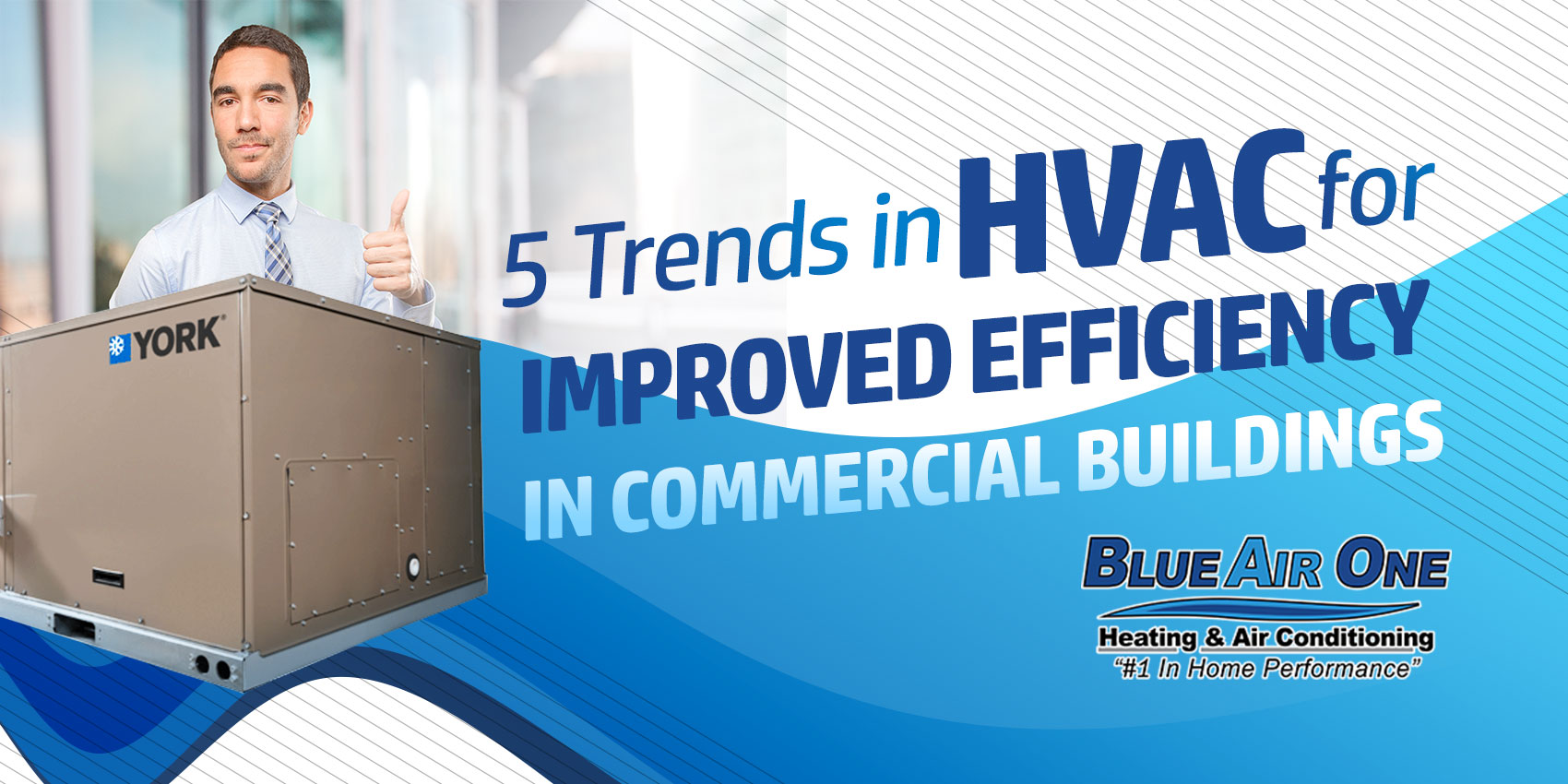 5 Trends in HVAC for Improved Efficiency in Commercial Buildings
