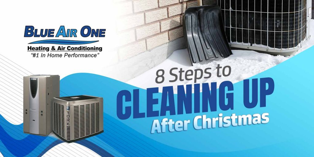 8 Steps to Cleaning Up After Christmas