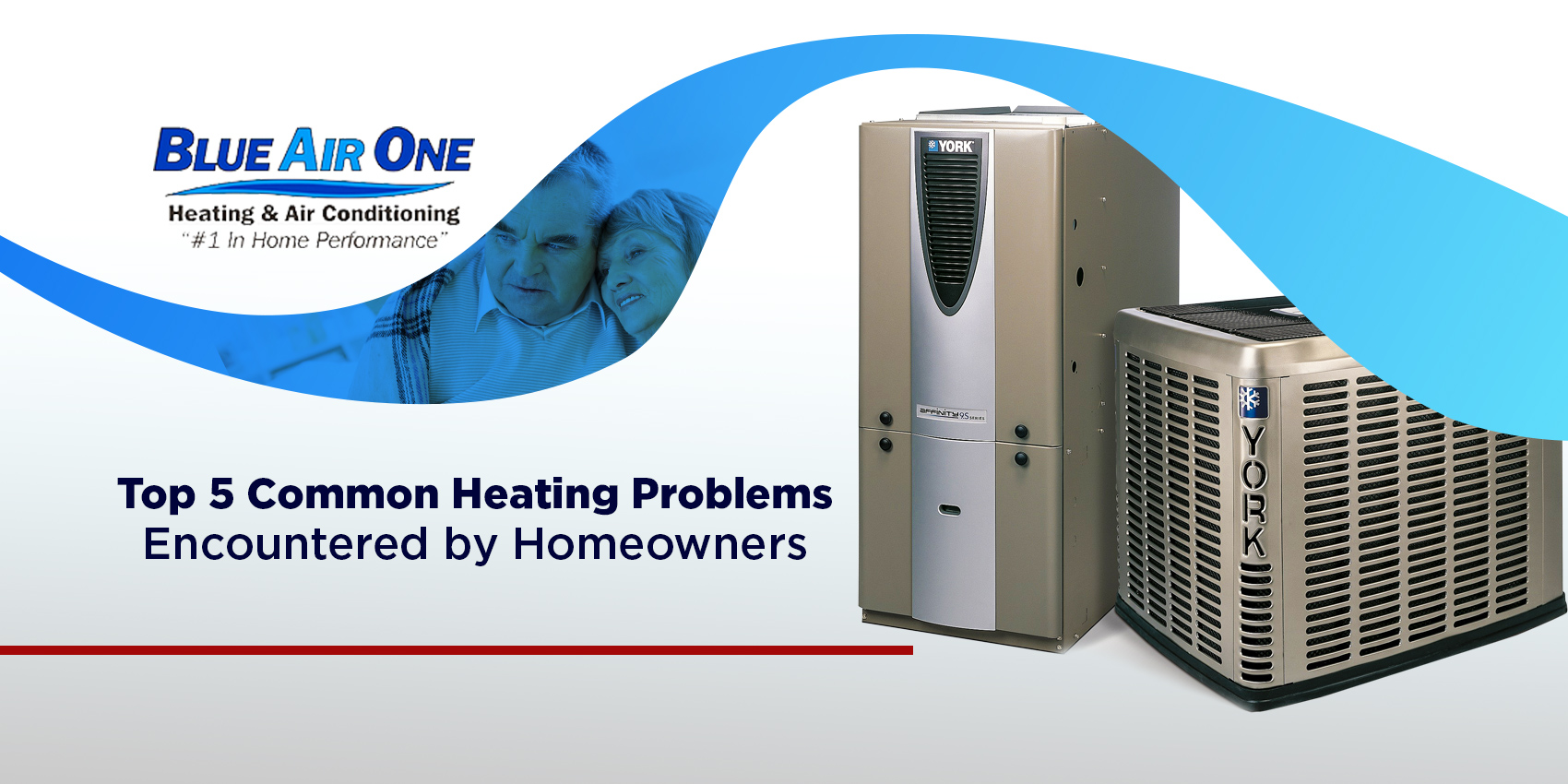 5 common heating problems