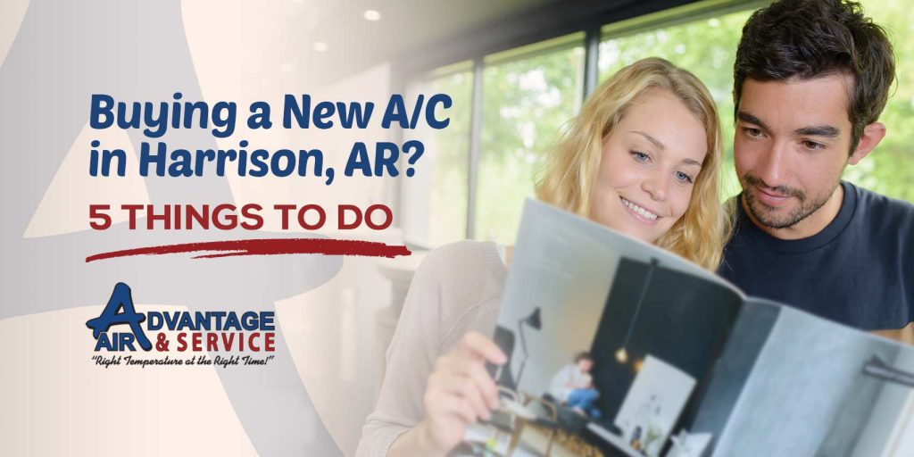Buying a New A/C in Harrison, AR? 5 Things to Do