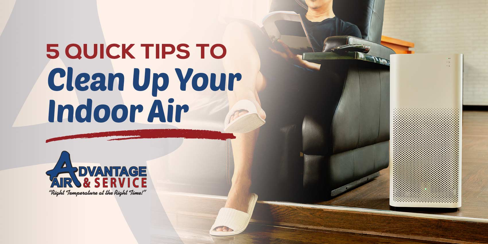 5 Quick & Easy Tips to Clean Up Your Indoor Air