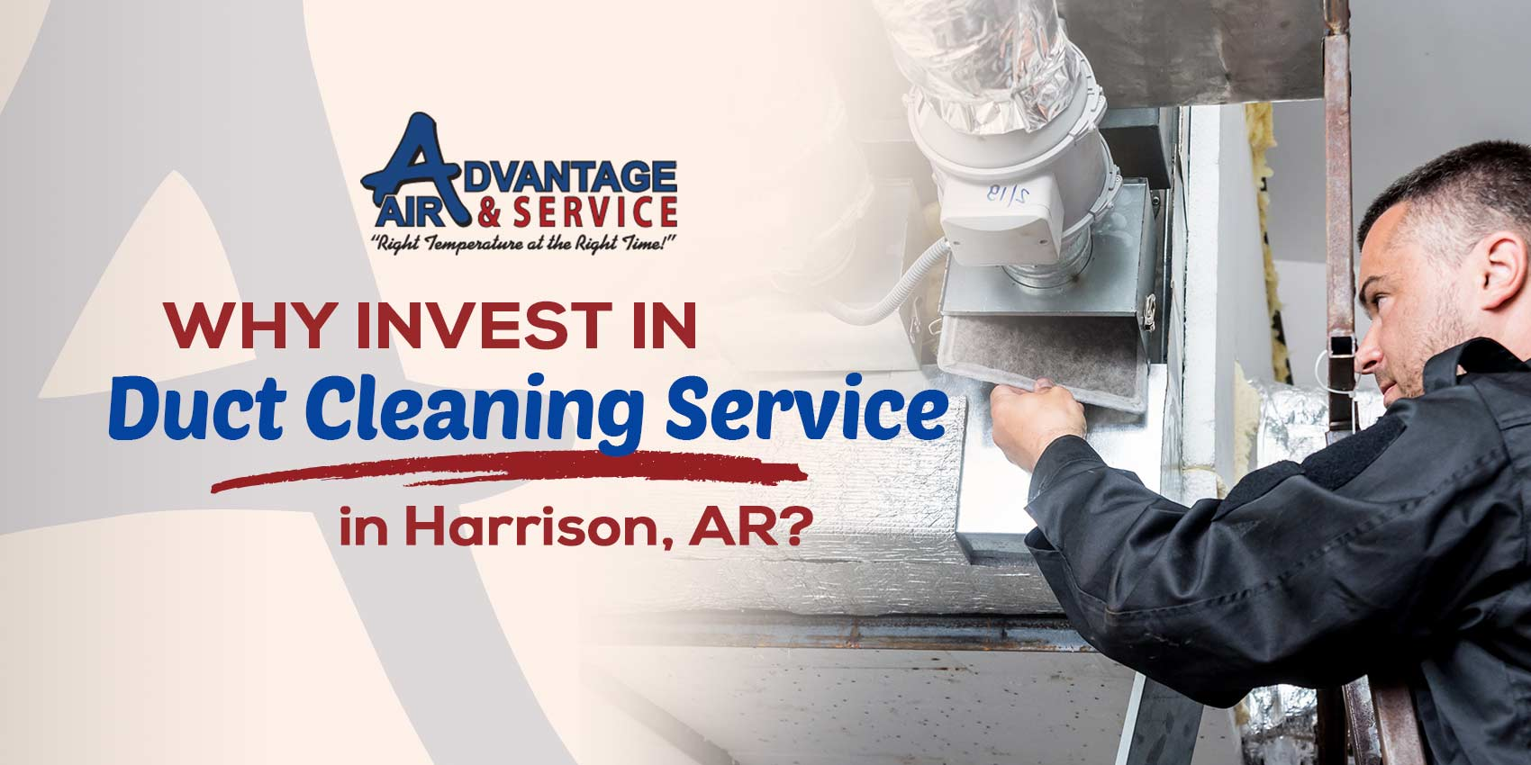 Why Invest in Duct Cleaning Service in Harrison, AR?