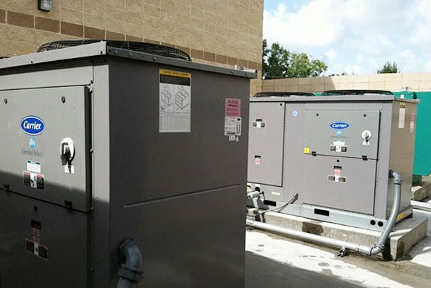 Carrier commercial HVAC systems