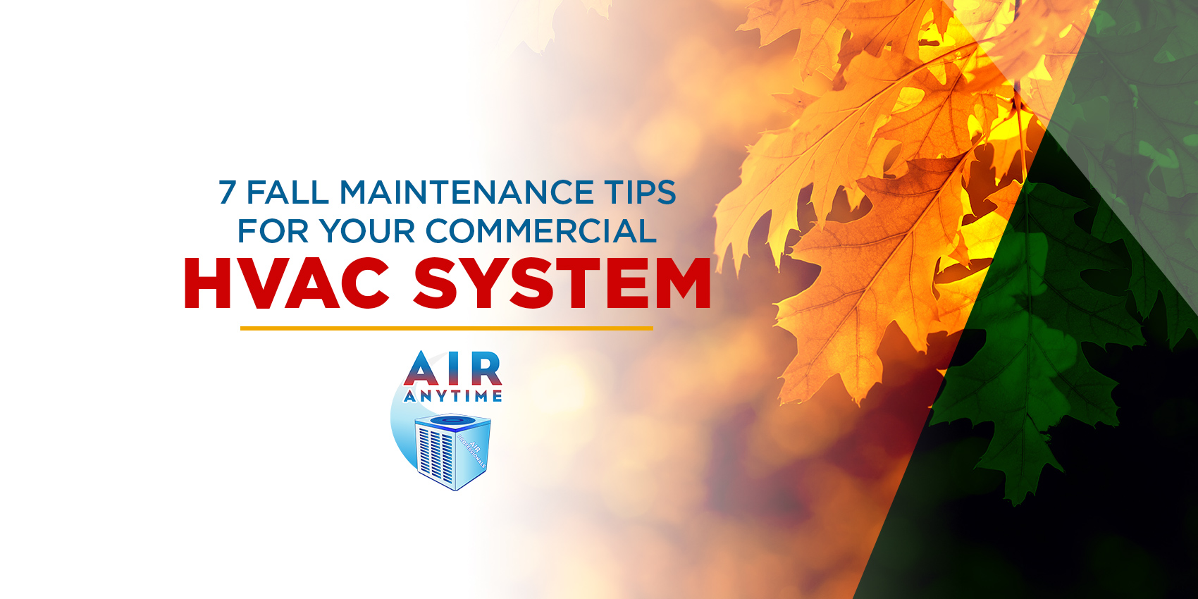 Maintenance Tips for Your Commercial HVAC System