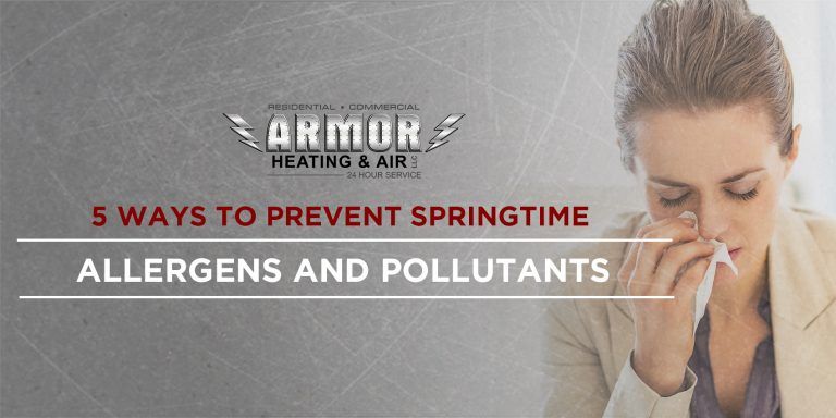 5 Ways to Prevent Springtime Allergens and Pollutants