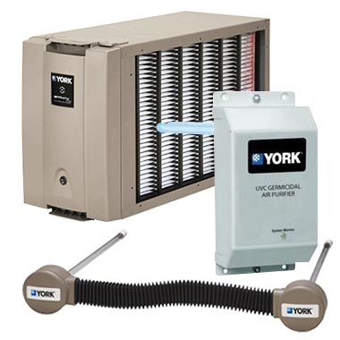 York indoor air quality products
