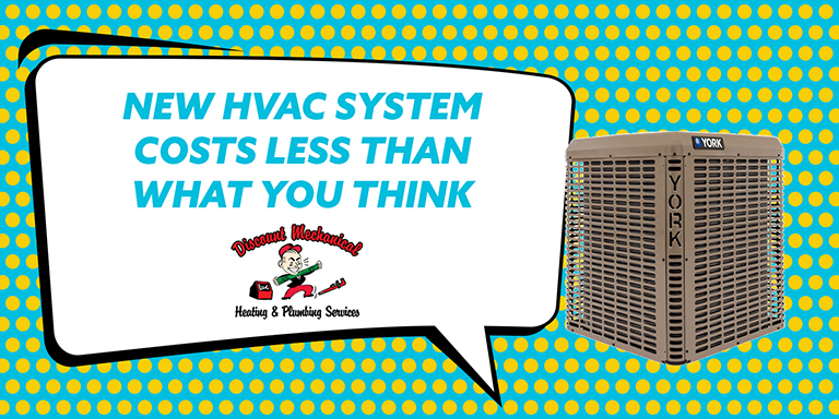 New HVAC System Costs Less Than What You Think