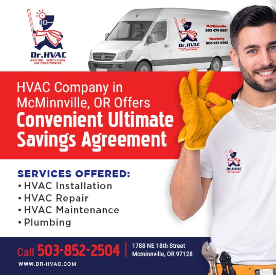 HVAC Company in McMinnville, OR