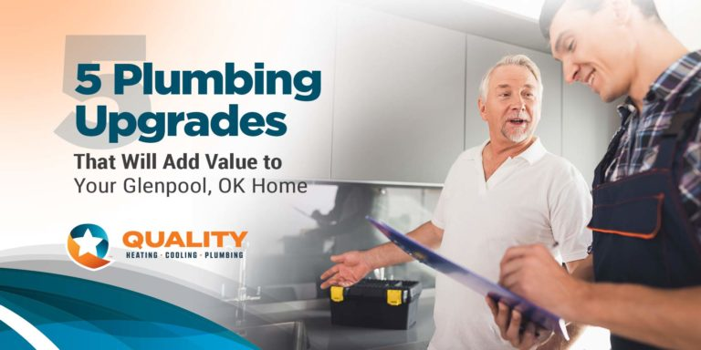 5 Plumbing Upgrades That Will Add Value to Your Glenpool, OK Home