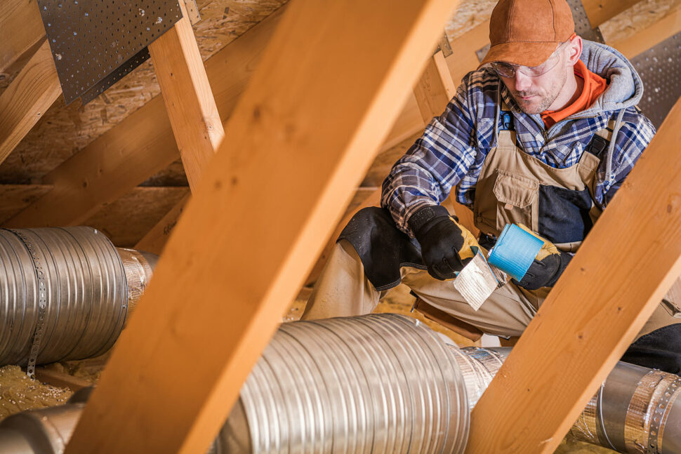 Installing Types of Air Duct Work
