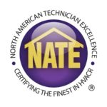 NATE logo by Fire and Ice Heating