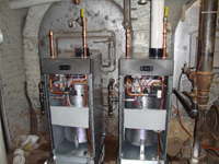Commercial Water Heater Installation Repair by Goode Plumbing