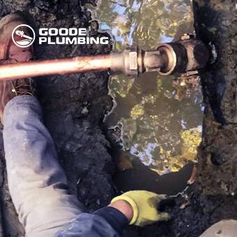 COMMERCIAL Main Water Supply Replacement by Goode Plumbing