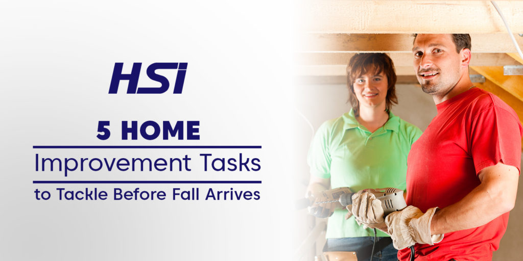 5 Home Improvement Tasks to Tackle Before Fall Arrives