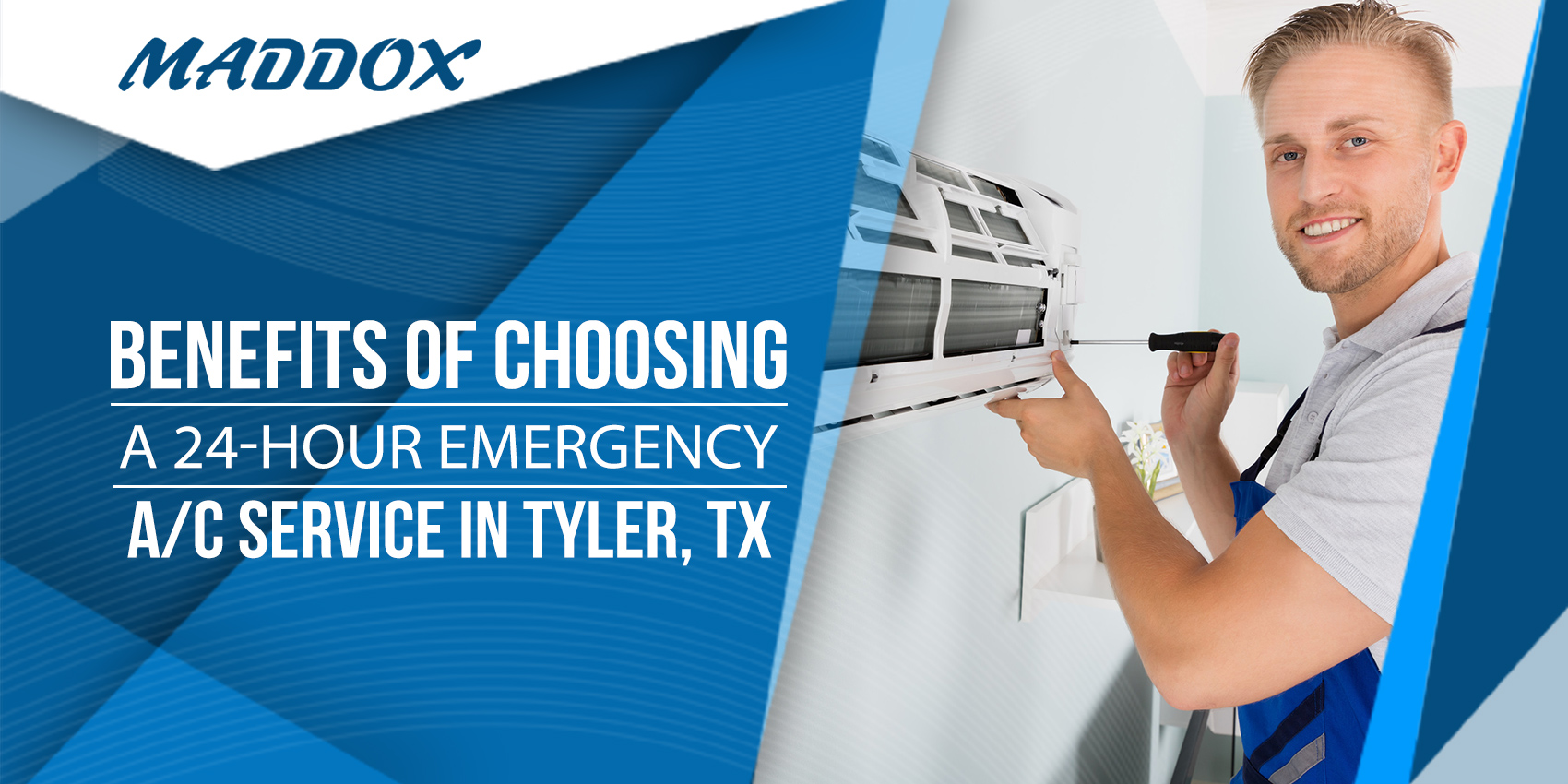 Benefits of Choosing a 24-Hour Emergency A/C Service in Tyler, TX