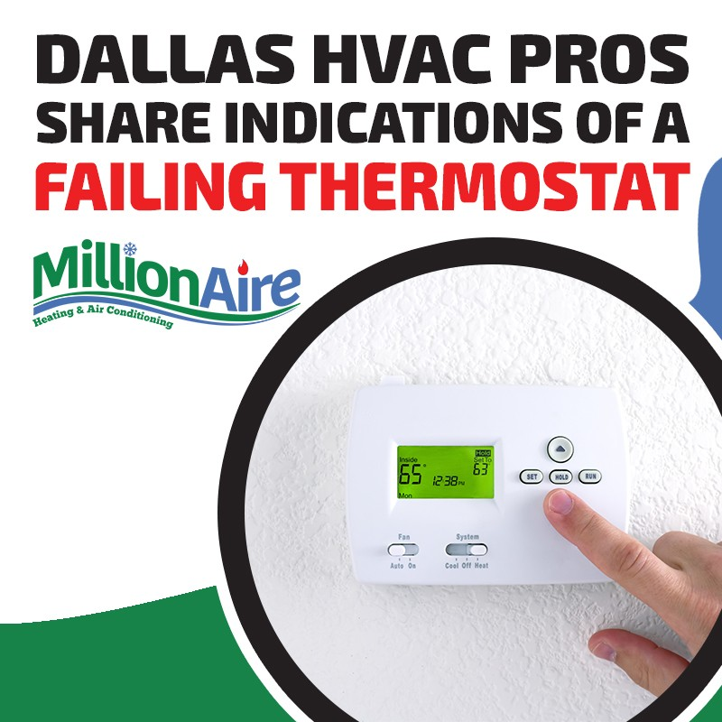 Dallas HVAC Pros Share Indications of a Failing Thermostat