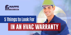 5 Things to Look For In An HVAC Warranty