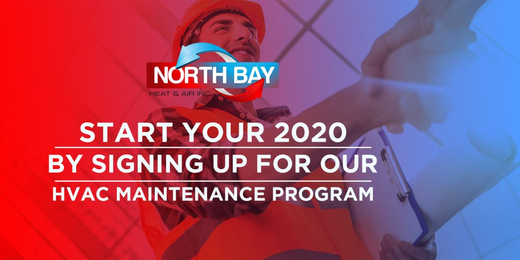 Start Your 2020 by Signing Up for Our HVAC Maintenance Program