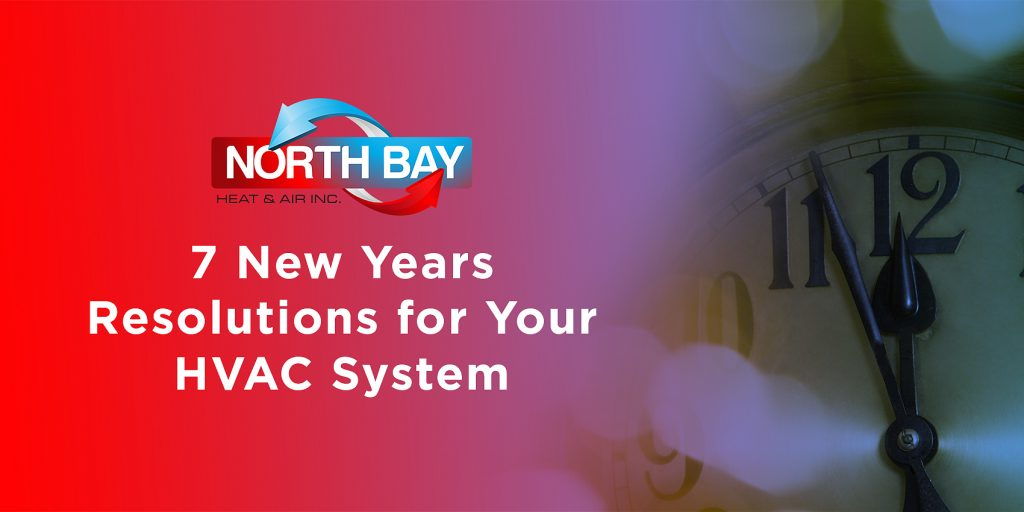 7 New Year's Resolutions for Your HVAC System