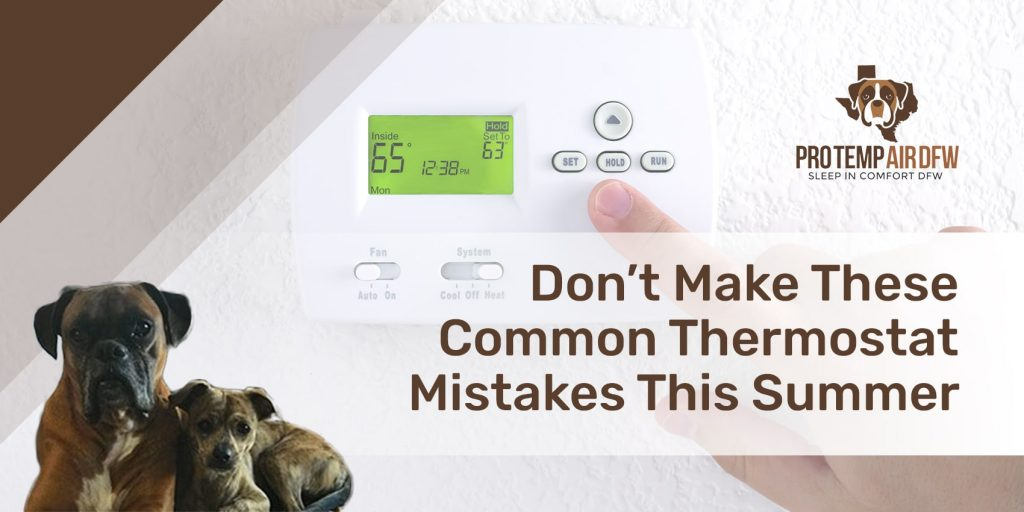 Thermostat Mistakes