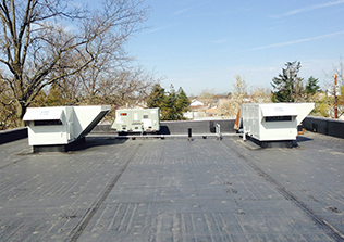 All Seasons Air Conditioning onsite HVAC project