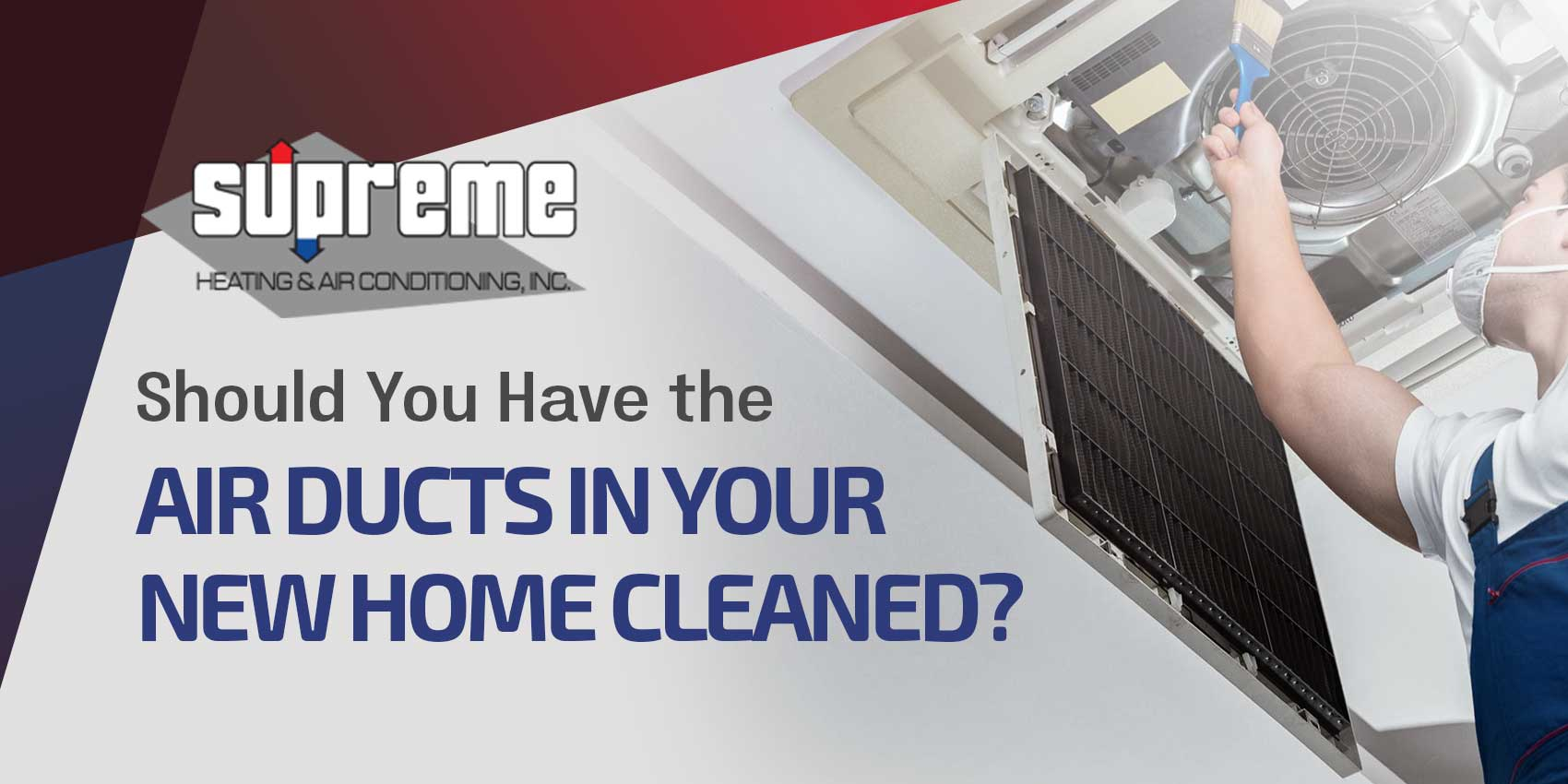 Should You Have the Air Ducts in Your New Home Cleaned?