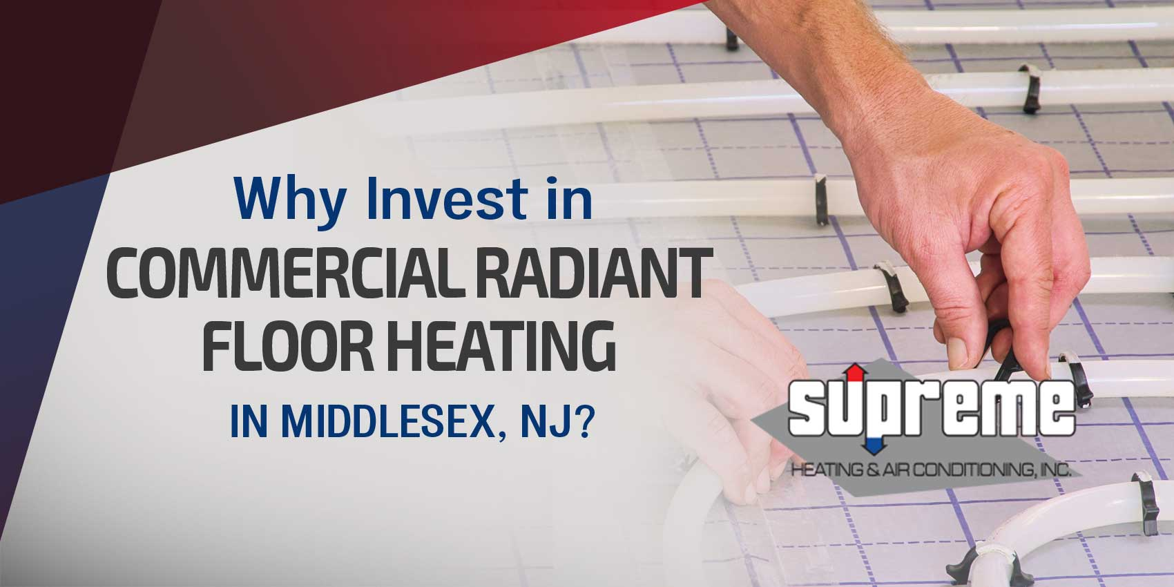 Why Invest in Commercial Radiant Floor Heating in Middlesex, NJ?