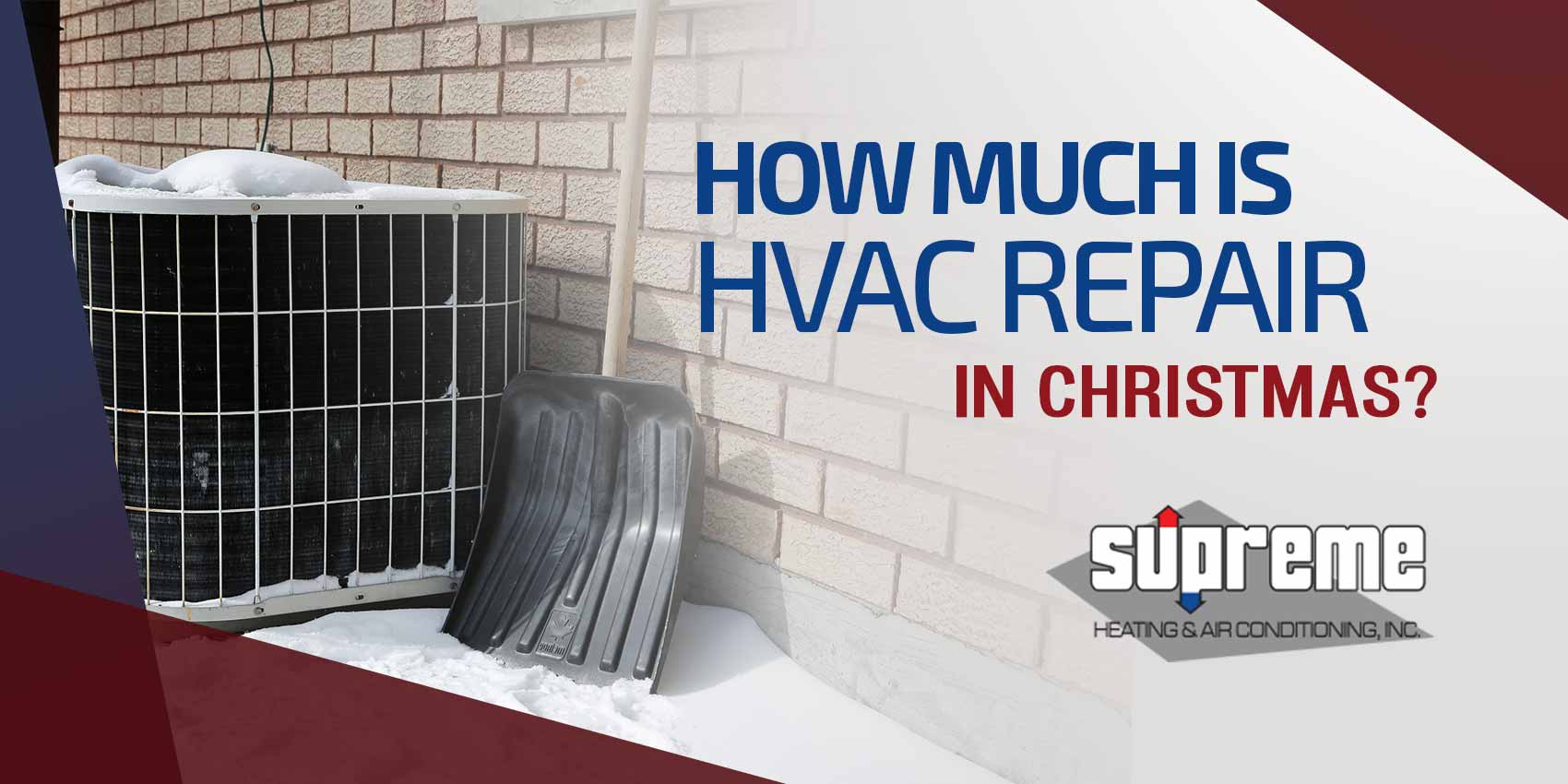 How Much is HVAC Repair at Christmas?