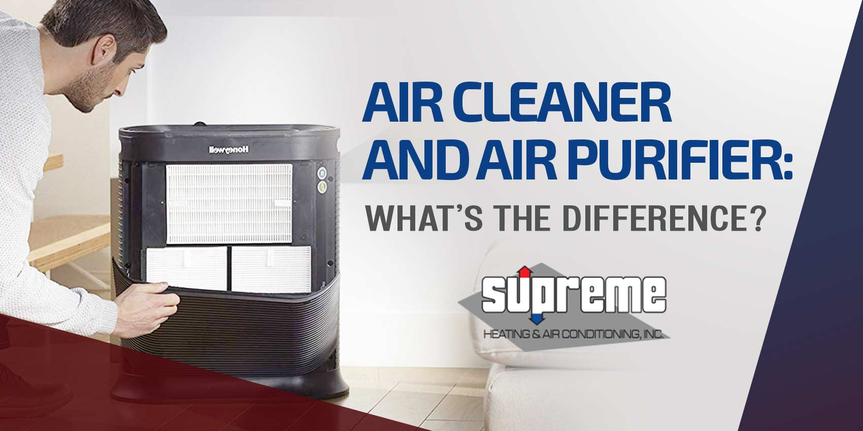 Air Cleaner and Air Purifier: What's The Difference?