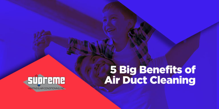 5 Big Benefits of Air Duct Cleaning