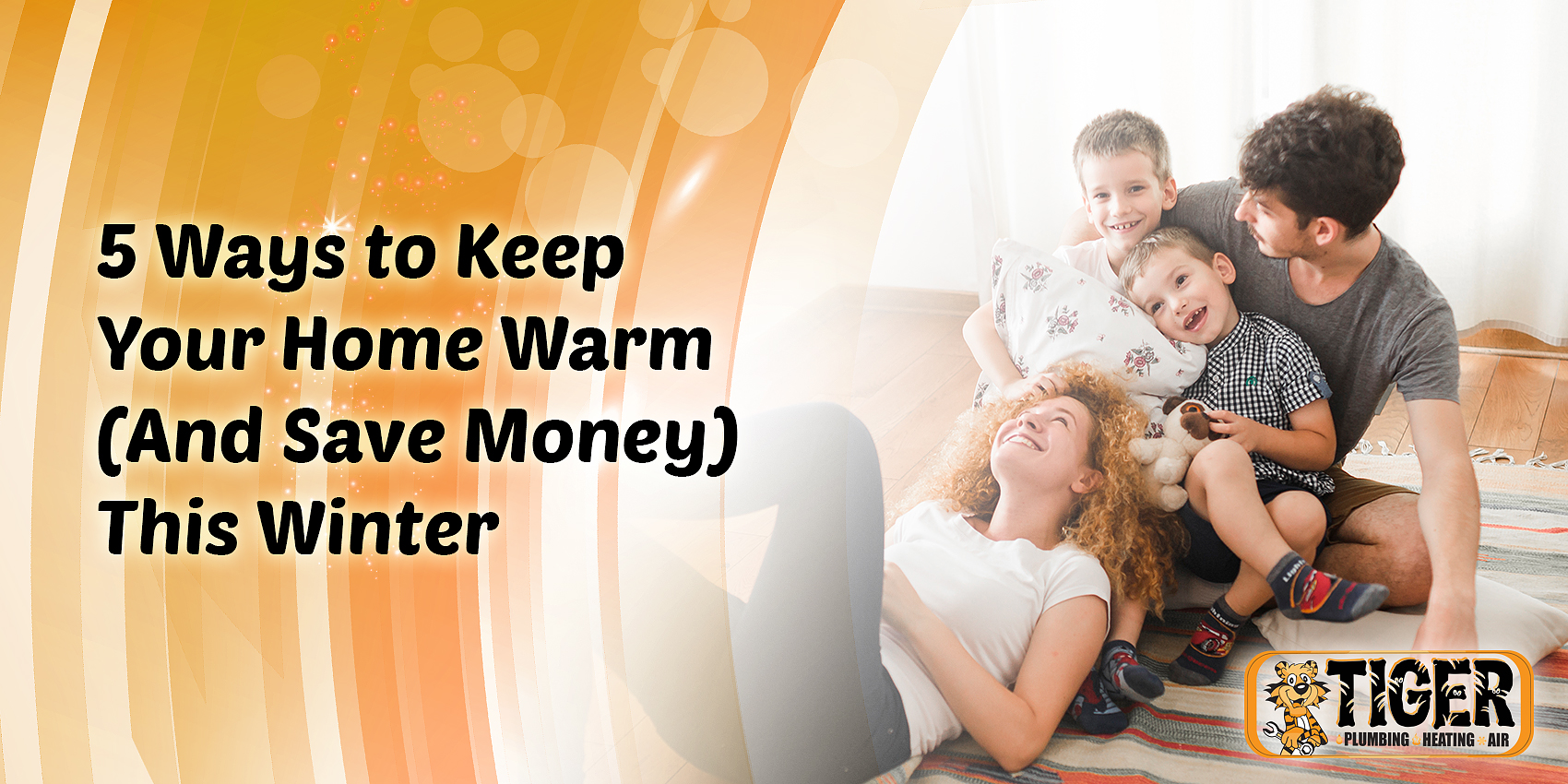 5 Ways to Keep Your Home Warm (And Save Money) This Winter